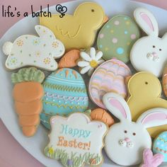 """241 Likes, 8 Comments - Nicole Cleghorn (@lifesabatch) on Instagram: """"Pastel Easter Assortment! Sweet & delicate, this baker's dozen (13) features a nice variety in my…"""""""