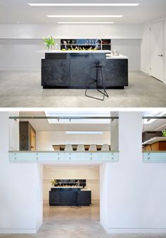 Roundabout Studio have designed a home in Toronto, Canada, that has a focus on music and entertainment.
