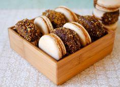 Salted Caramel Praline Macarons   Patisserie Makes Perfect