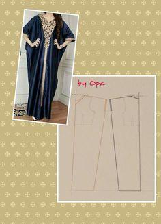 Kaftan Pattern Dress diy