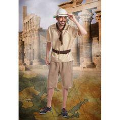 DisfracesMimo, disfraz de explorador hombre talla m/l.Serás el explorador más famoso de África . Prepárate para cazar toda la diversión en Carnavales.
