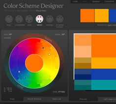 Color Scheme Designer   http://colorschemedesigner.com/