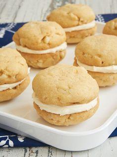 White Chocolate Macadamia Sandwich Cookies