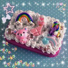 Sweet Decoden box for little treasures. Rilakkuma, My Little Pony, kawaii and pink!