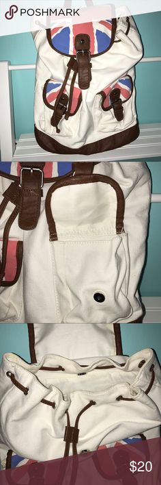 Union Jack Backpack Great for travel.  Large size that can even be used for school.  Always open to reasonable offers and discounts on bundles 😊 Bags Backpacks