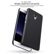Mobile Phone Cases for meizu mx6 nillkin Plastic Hard Back Cover for mobile pc case meizu mx6 pro case + free screen protector