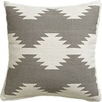 tecca 18 pillow with feather-down insert