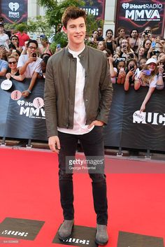 Shawn Mendes arrives at the 2016 iHeartRADIO MuchMusic Video Awards at MuchMusic HQ on June 19, 2016 in Toronto, Canada.