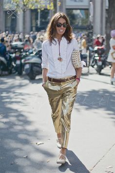 Gold Glamour by Cool Chic Style Fashion