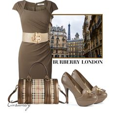 """""""Burberry London"""" by casuality on Polyvore"""