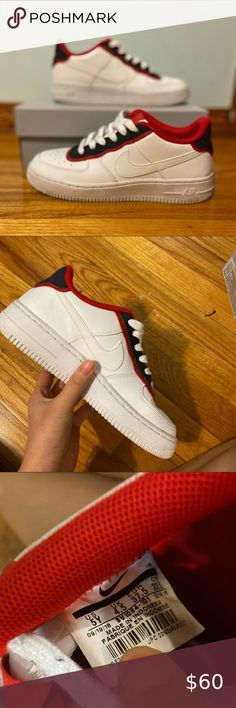Nike Air Force 1 5y= 6.5 women Nike Shoes Sneakers Air Force 1, Nike Air Force, Nike Shoes, Shoes Sneakers, Women Nike, Best Deals, Closet, Things To Sell, Style