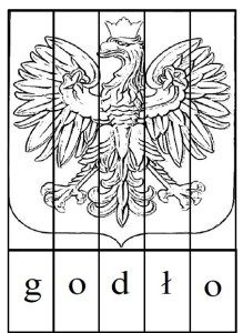 puzzle-do-czytania-godlo-czb Montessori, Number Puzzles, Coat Of Arms, Speech Therapy, Art For Kids, Techno, Diy And Crafts, Education, School