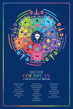 Want to see Coldplay perform live on their tour? Join the Coldplay Fan Group and Waiting Lists to attend the concert on August 20, 2016.