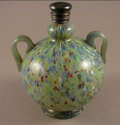 Vintage Murano glass perfume bottle, made on the Island of Murano in Italy.
