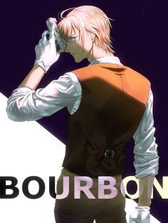 Bourbon, Super Manga, Fangirl, Police Story, Kaito Kid, Amuro Tooru, Detektif Conan, Kudo Shinichi, Anime Dress