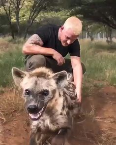 When your & friend& is a hyena & Look how excited & she was after i came back from my 2 week trip to Switzerland. Tag your best friends & comment your feedback below& Video and caption by The post When your & friend& is a hyena Look appeared first on . Cute Funny Animals, Cute Baby Animals, Cute Dogs, Funny Monkeys, Cute Animal Videos, Funny Animal Pictures, Funny Photos, Nature Animals, Animals And Pets