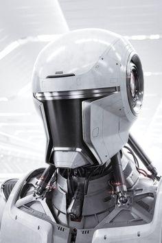 ArtStation - Mitsubishi Outlander advertisement, by Vaughan LingMore robots here.
