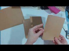 Roses and Stripes - 6 1/2 X 6 1/2 MIni Album Tutorial - YouTube