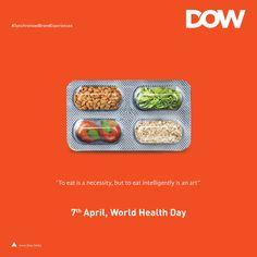 world health day poster design Food Poster Design, Creative Poster Design, Ads Creative, Creative Posters, Ad Design, Branding Design, Clever Advertising, Advertising Design, Ad Of The World