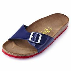navy madrid birkenstocks