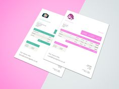 Best Creative Invoice Templates For Freelancers Images On - Best invoice creator