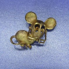 Vintage Jewelry Avon Figural Mouse with Glasses by DLSpecialties, $4.99