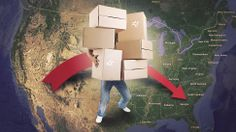 Seven Things I Learned After Moving Across the Country Moving Day, Moving Tips, Moving House, Move On Up, Big Move, Moving To California, California Dreamin', Moving Across Country, Cross County