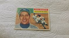 1956 Topps New York Yankees Phil Rizzuto single baseball card