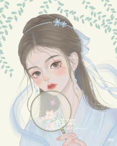 Pretty Art, Cute Art, Pretty Girls, Girl God, China Art, 19 Days, Chica Anime Manga, Anime Fantasy, Anime Art Girl