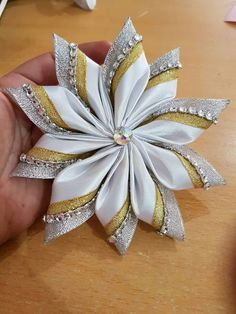Antoinette Brooks's 224 media content and analytics Diy Ribbon Flowers, Ribbon Art, Satin Flowers, Fabric Ribbon, Ribbon Crafts, Flower Crafts, Fabric Flowers, Paper Flowers, Diy Crafts
