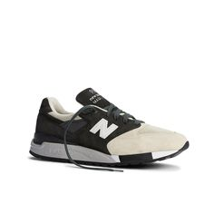 New Balance X Todd Snyder  Black and Tan 998 Brown Sneakers 06174f893