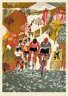 The Ronde Van Vlaanderen (Tour of Flanders) by Eliza Southwood