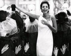 Carmen Mayrink Veiga wearing one-shouldered shift of white… | Flickr