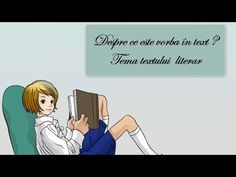 Tema unui text literar - YouTube Texts, Family Guy, Youtube, Fictional Characters, Literatura, Youtubers, Text Messages