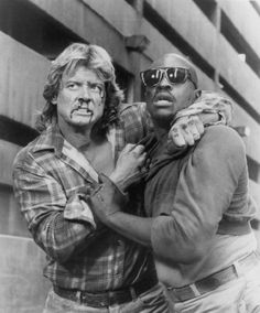 Keith David and Roddy Piper in They Live (1988)