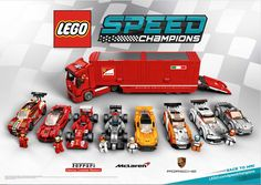 LEGO Speed Champions... these look so cool!