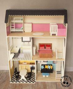 Maison de Barbie - # 6 : les meubles (chambres et salle de bain) - Alice Balice - couture et DIY loisirs créatifs