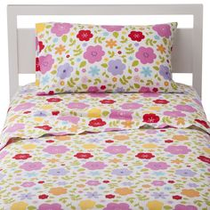 Circo� Floral Flannel Sheet Set