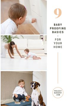 Baby Proofing Must-Do's - keep baby safe in your home! | ProjectNursery.com