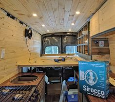 Our Ford Transit DIY camper van. All the details from the conversion process: van selection, climate control, electrical system, layout, build journal.