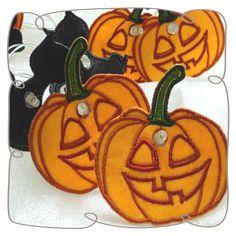 Organza Black Cat and Pumpkin String Lights Machine Embroidery Design String Lights, Pumpkin Carving, Machine Embroidery Designs, Light Up, Halloween Designs, Hoop, Projects, Fairy, Cat