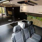 Bunk Beds - Outside Van