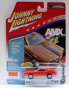1:64  JOHNNY LIGHTNING MUSCLE CARS USA 2017 SERIES 1A - 1969 AMC AMX - BIG BAD O #JohnnyLightning #AMC