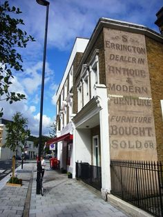 Love these old signs left on buildings > Creative Review - Ghostsigns talk at St Bride Library