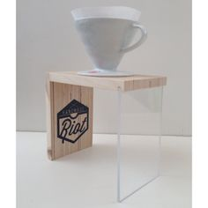 Pour Over Coffee Stand // V60 Stand by HandmadeRiot on Etsy, $30.00