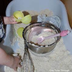 Baking Cloud Dough