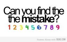 Você consegue achar o erro?
