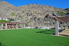 Palm Springs Vacation Rentals. View of Venue #1 Stage Area Approximately 5,000 Square Feet.