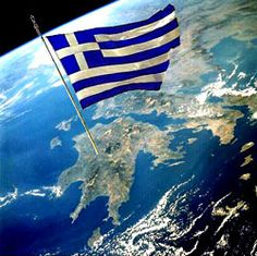 """"""" Congrats to Greece """"Cradle of Democracy"""" and to her Wonderful people, like you my dear Greek friend"""" Greece Flag, Greek Beauty, Greek History, Greek Music, Cities In Europe, Flags Of The World, Acropolis, Thessaloniki, Ancient Greece"""