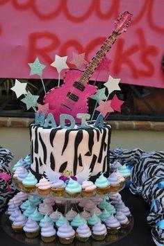Decoración Cumpleaños Rock Star